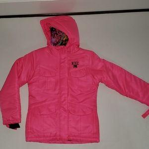 Nike Snowboard Jacket Size M 10-12Yrs Bright Pink